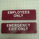 ADA Signs - Indoor Signs - Express Sign Outlet