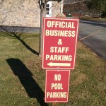 Parking Signs - Outdoor Signs - Express Sign Out