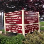 Post & Panel Signs - Outdoor Signs - Express Sign Out