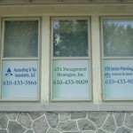 Vinyl Graphics - Window Lettering - Express Sign Outlet